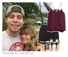 """Sunny day w/ Luke and Liz"" by x5sosfam-1dx ❤ liked on Polyvore featuring Topshop, Zara, H&M, women's clothing, women, female, woman, misses and juniors"
