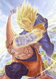 Dragon Ball Z Tribute Illustrations by Katsutake