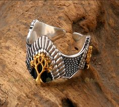 New Lord Of The Ring 925 Sterling Silver The Crown of King Aragon Ring Nice Gift | the Lord of the Rings Collectionary