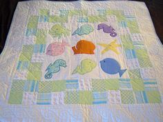 Under The Sea baby quilt