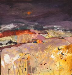 Christine Woodside's Archive of Paintings at Ainscough Contemporary Art Abstract Landscape Painting, Seascape Paintings, Landscape Art, Landscape Paintings, Landscape Design, Modern Artists, Contemporary Landscape, Texture Art, Modern Gardens