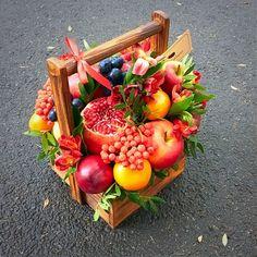 Пан Баклажан. Вкусные букеты из овощей и фруктов