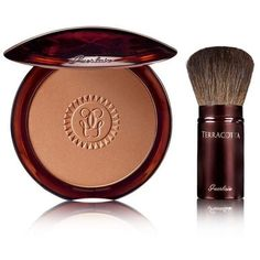 Guerlain Terracotta Gift Set (180 BRL) ❤ liked on Polyvore featuring beauty products, gift sets & kits, apparel & accessories, no color and guerlain