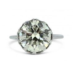 5.03ct Transitional Cut Diamond Solitaire Engagement Ring - philiplloydjewellers.co.uk
