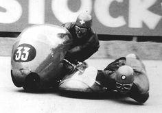 Fritz Scheidegger  & Horst Burkhardt, winning Clermont-Ferrand,