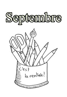 Bullet Journal Rentrée, Colouring Pages, Coloring Books, Classroom Management Techniques, French Classroom, Photo Album Scrapbooking, Back To School Activities, Autumn Theme, First Day Of School