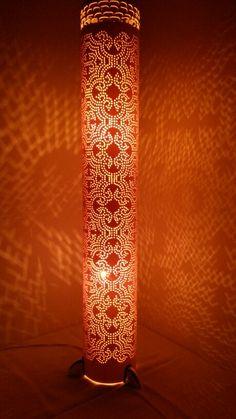 Luminária em PVC de Coluna.                                                                                                                                                                                 More