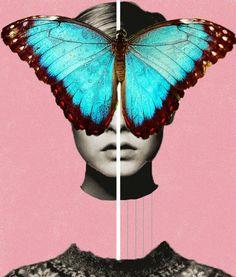 Women Empowerment (Experimental work) by Julissa Lopez, via Behance