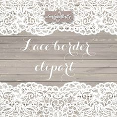 Wedding clipart lace border rustic clipart shabby chic wedding lace clipart lace border bridal shower INSTANT DOWNLOAD clipart graphics wedding clipart invitation wedding wedding flower rustic wedding rustic lace lace border lace digital bridal shower digital paper wood alovelybutterfly 4.99 USD