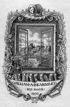 bookplate of william a beardsley flickr photo sharing
