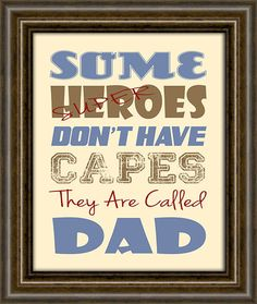 Items similar to Father's Day Gift - Personalized Gift - Gift For Dad - Gifts From Kids - Dad Gift - Print - Dad Super Hero Print on Etsy Daddy Gifts, Gifts For Dad, Mother And Father, Mothers, Daddy Day, Fathers Day Crafts, Kid Crafts, Dad Quotes, Grandparent Gifts