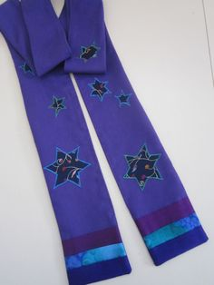 This Advent Liturgical stole celebrates the stars!