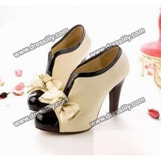 cc94c7be80b Elegant and Sexy Style Bowknot Embellished High-Heeled Ankle Boots For  Female