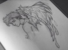 dibujo angel