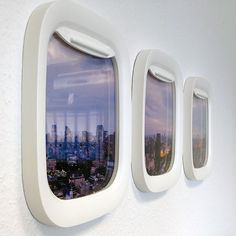 view from your aeroplane porthole is incredible:Air Frames. Cute in a boys room above the bedThe view from your aeroplane porthole is incredible:Air Frames. Cute in a boys room above the bed