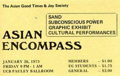Sand and Subconscious Power at Pauley Ballroom.