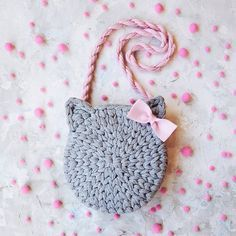 Marvelous Crochet A Shell Stitch Purse Bag Ideas. Wonderful Crochet A Shell Stitch Purse Bag Ideas. Bunny Crochet, Crochet Amigurumi, Crochet Girls, Cute Crochet, Crochet For Kids, Crochet Crafts, Crochet Baby, Crochet Ideas, Crochet Handbags