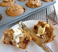Wheat & Gluten Free Recipe - Walnut & Apricot Muffins