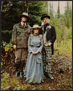 Clint Eastwood, Jean Seberg and Lee Marvin in Paint Your Wagon directed by Joshua Logan, 1969