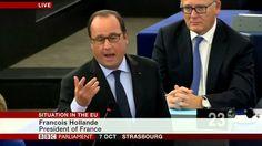 Nigel Farage & FN Marine LePen's DESTROY EU Leaders