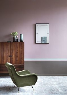 Browse our gallery of premium colour scheme ideas. Our luxury interior design images are created to inspire your decorating project with high end combinations. Gray Painted Walls, Grey Walls, Paint Walls, Interior Design Images, Luxury Interior Design, Stylish Interior, Paint And Paper Library, Hallway Colours, Paint Color Schemes