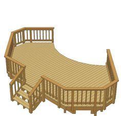 pool deck designs for a 24 round above ground plansdeck planspool decks14 x 24 pool deck planp 1461187htm home ideas pinterest design