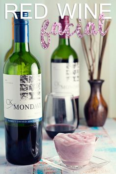 DIY Red Wine Facial Mask with CK Mondavi