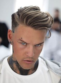 Outstanding Modern Haircuts for Men Modern Mens Haircuts, Popular Mens Haircuts, Haircuts For Men, Hairstyles Haircuts, Side Swept Hairstyles, Undercut Hairstyles, Cool Hairstyles, Undercut Men, Medium Length Hair Men
