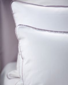 Linen Bedding, Bed Linens, Cushion Inspiration, Luxury Bed Sheets, Purple Lingerie, Scandinavian Home, Bed Pillows, Cushions, Bed Spreads
