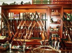 Holland and Holland Gun Room