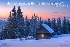 """""""Meine #Brüder und #Schwestern, wartet #geduldig, bis der #Herr kommt. Muss nicht auch der #Bauer mit viel #Geduld abwarten, bis er die #Ernte einfahren kann? Er weiß, dass die Saat dazu den #Herbstregen und den #Frühlingsregen braucht. Auch ihr müsst #geduldig sein und dürft nicht #mutlos werden, denn der #Herr kommt bald.""""  #Jakobus 5:7-8 #glaubensimpulse"""
