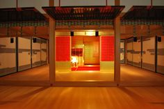 """""""pamandjapan:  MOA美術館 (MOA Museum of Art) The MOA Bijutsukan in Atami, Shizuoka is a private museum established in1982 by the Mokichi Okada Association (MOA) to house the art collection of their founder, multimillionaire and religious leader Mokichi Okada. It has collections of classical paintings, scrolls, sculptures, porcelain, and lacquerwork from China and Japan. Major exhibits include National Treasures such as the Edo Period Red and White Ume Blossoms by Ogata Korin.  """""""