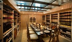 Private wine cellar images | WORDLESS WEDNESDAYS: Private Dining in a Wine Cellar