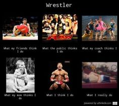 """Wrestling """"What I Really Do"""" thats the truth, especally when your dad is the coach"""