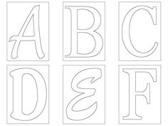 free printable fancy letters free printable large alphabet letter