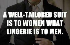 Well dressed men.