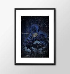The Batman - Jim Lee Batman Tribute by ShamanAlternative on Etsy