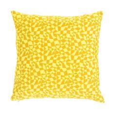 Pillow | Yellow Geometry