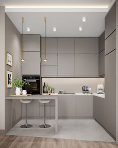VK is the largest European social network with more than 100 million active users. Open Plan Kitchen Living Room, Kitchen Design Open, Luxury Kitchen Design, Contemporary Kitchen Design, Kitchen Cabinet Design, Home Decor Kitchen, Interior Design Kitchen, Kitchen Ideas, Open Kitchen
