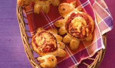 Schäfchen-Pizza für Kinder Rezept | Dr.Oetker