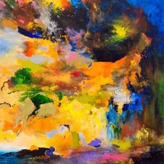 "Saatchi Art Artist Rikka Ayasaki; Painting, ""Thursday night (New creation! )"" #art"
