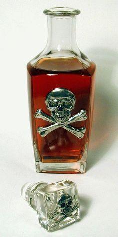 10 poison skull bottles So want this!