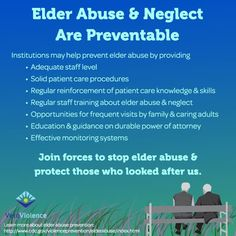 a discussion on the consequences of elderly abuse and neglect It will then move on to discuss the causes and consequences of elder abuse it will then outline the ways in which policy and practice has responded to the problem of elder abuse since the protection of our future: report of the working group on elder abuse was published in 2002.