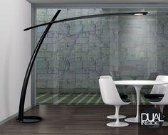 KATANA - Italian floor lamp - Valerio Cometti, Paolo Balzanelli - Leucos USA #lighting