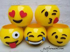 Portalápices de Emoji