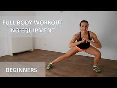 Full Body Workout At Home For Beginners – 20 Minute Low Impact Workout With No Equipment - YouTube
