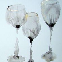 Wine Glasses bridget davies