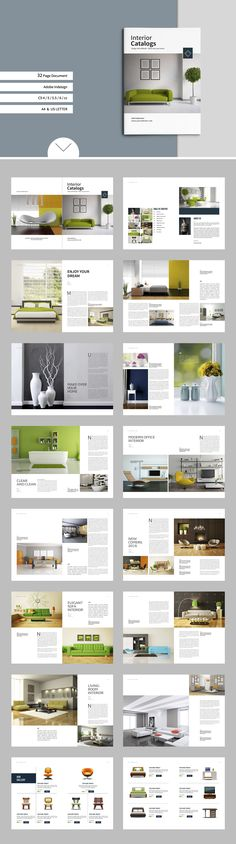 Interior Catalogs by tujuhbenua on @creativemarket