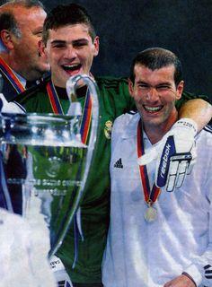 Dos leyendas del fútbol mundial.