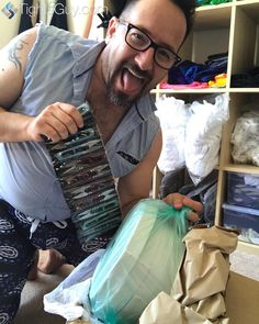 1/2 Mile of elastic and a dozen sharp thread snips!  Sewng porn came in the mail today!  Party!  #menwhosew #sewingmen #tightsguy #IAmATightsGuy @cts_usa